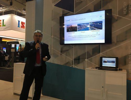 AE Pedrosa al Saló del Smart City Expo World Congress
