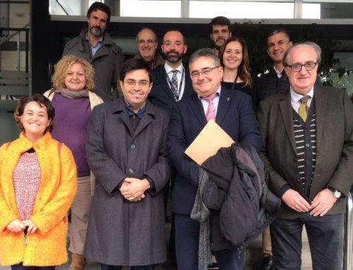 L'Ajuntament de Barcelona visita l'AEP a l'edifici Sertram