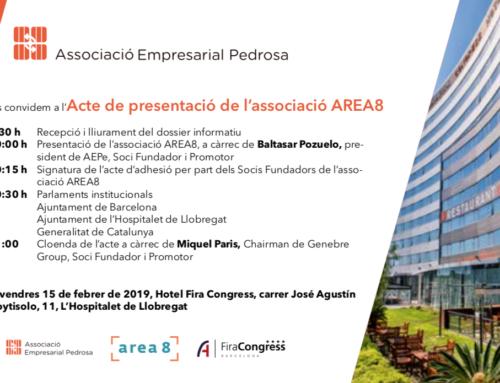 Acta de la Reunió per a la Constitució de la Fundació / Associació AREA8